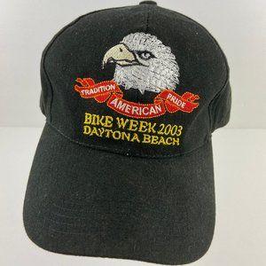Biker Week Hat Daytona Beach 2003 Snapback Hat